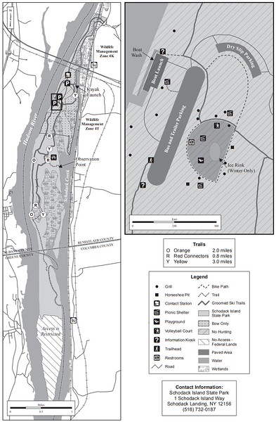 Schodack Island State Park (Hunting Map)