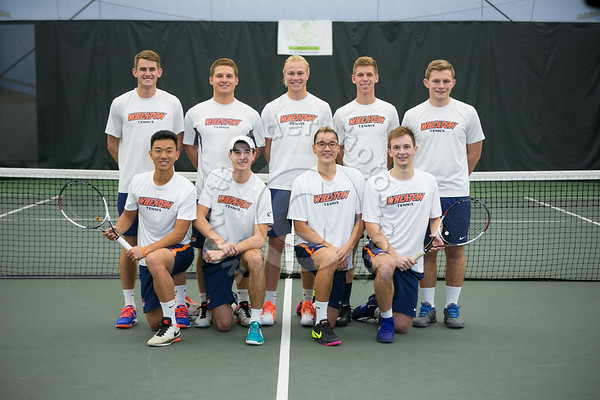 Wheaton College 2017 Men's Tennis Team