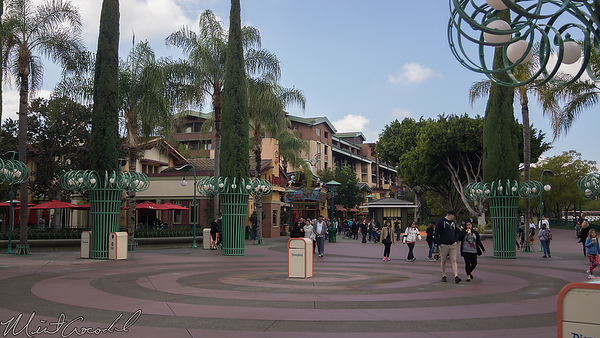 Disneyland Resort, Disney California Adventure, Disneyland, Main Entry Plaza, Downtown Disney