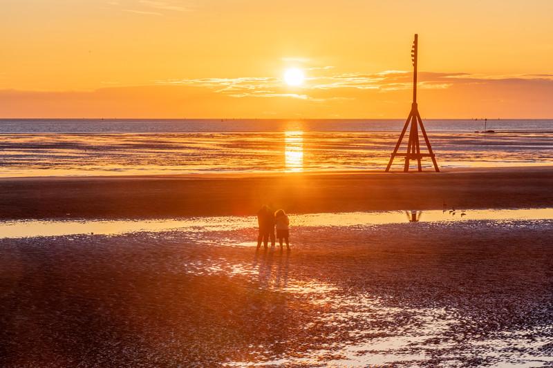 Liverpool Bay Sunset