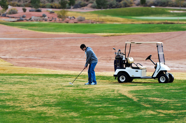 2011 Thanksgiving Golf in St. George Utah