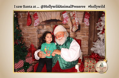 Hollywild Santa Photos - 121919