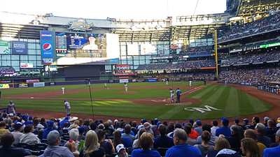 Milwaukee Brewers Game 2016