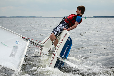 Sailing practice 22 June 2013