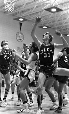 1970 Basketball Greene vs Allison