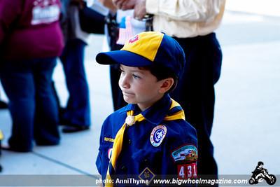 911 Memorial - at Fire Station 88 - Sherman Oaks, CA - September 11, 2011