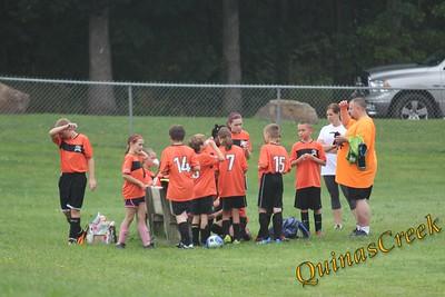 U12 Orange vs Black