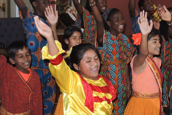 Parkvue Place on June 7, 2016 hosts a great Musical Show-Matsiko. 2016 World Orphan Choir Tour.