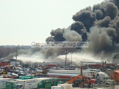 Junkyard Fire in Oil City 4-19-08