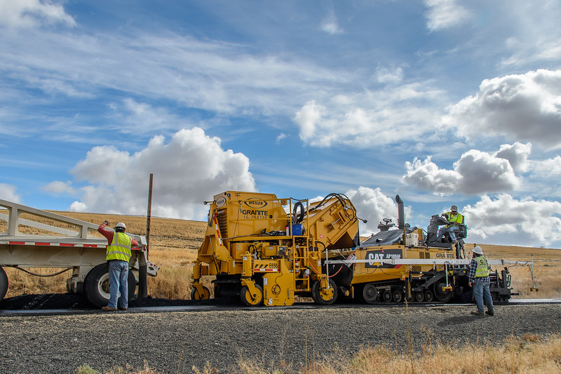 Paving - Ritzville Washington - 2017
