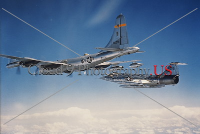 USAF McDonnell Lockheed F-104 Starfighter Aerial Refueling Pictures