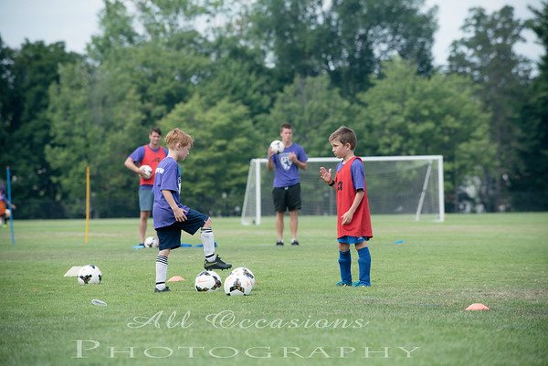 Great Danes Soccer Camp 2016