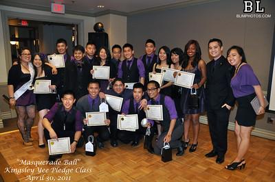 Mu Zeta Spring 2011 Kingsley Yee Pledge Class Activation Banquet 04.30.2011
