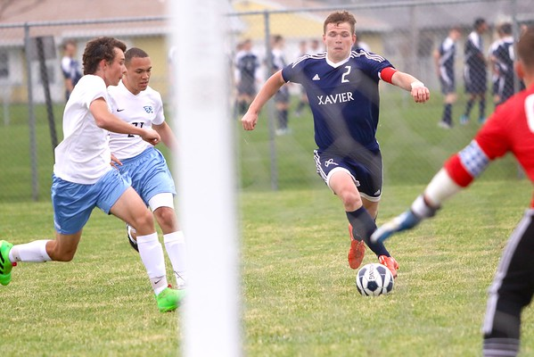 Xavier vs. Jefferson Boys' Soccer 4/19/16