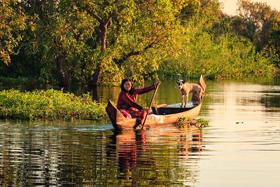 Kampong Phluk, Tonle Sap Lake