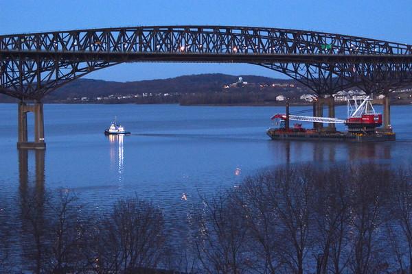 At the Newburgh - Beacon Bridge NY