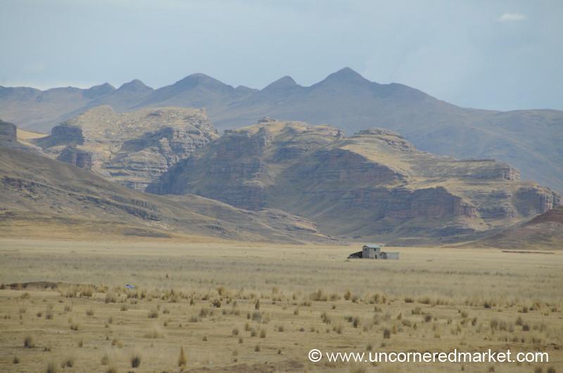 Lonesome - Puno, Peru to Copacabana, Bolivia