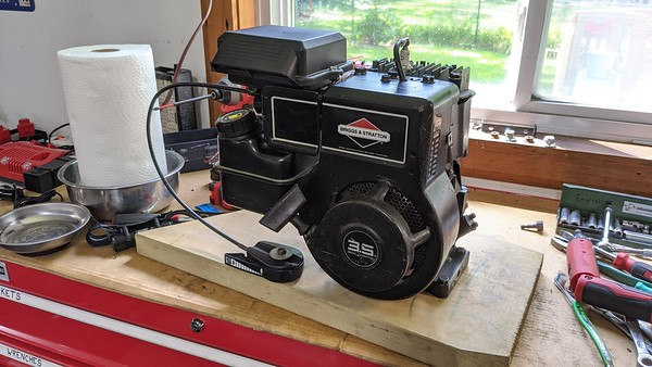 Fixing 3.5 hp Briggs & Stratton for Ray