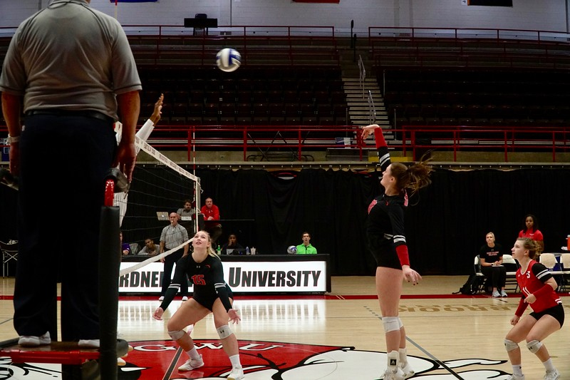 GWU vs ECU Volleyball