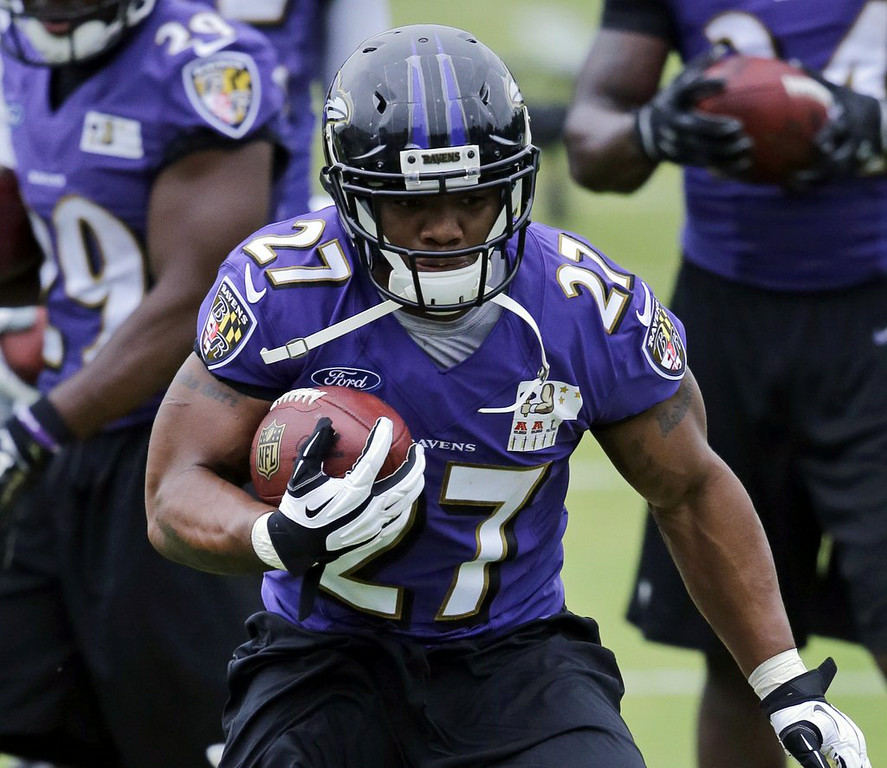 """. 2. RAY RICE <p>Suspended two games, one for each time his wife�s face hit the floor. (unranked) </p><p><b><a href=\""""http://www.twincities.com/vikings/ci_26209275/ravens-rb-rice-receives-2-game-suspension-from\"""" target=\""""_blank\""""> LINK </a></b> </p><p>    (AP Photo)</p>"""