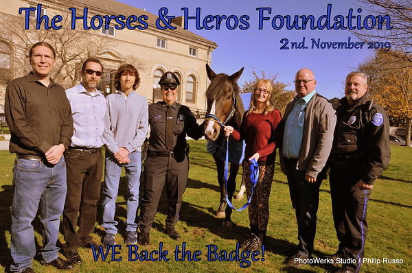 "Horses & Heroes Foundation, "" We Back the Badge"""