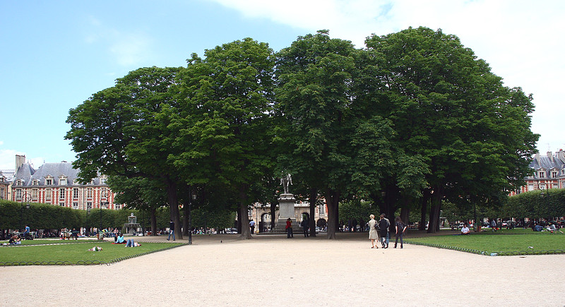 A view of the square