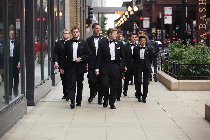Le Cape Weddings - Chicago Cultural Center Weddings - Kaylin and John - 08 Groom Creatives 17