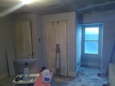 Room sheetrocked... Ardmoore PA.