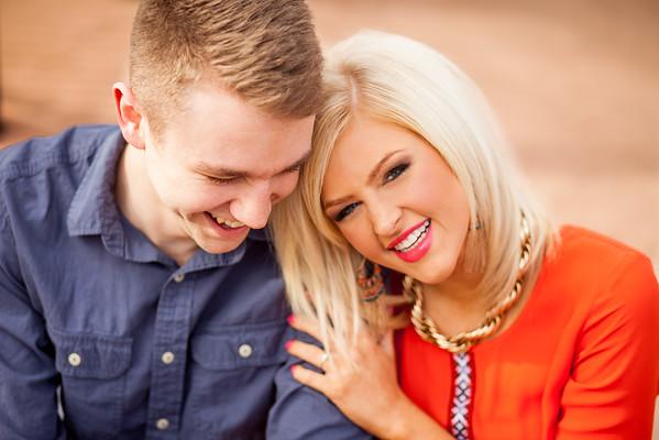 Mitch & Amanda's Engagement Portraits