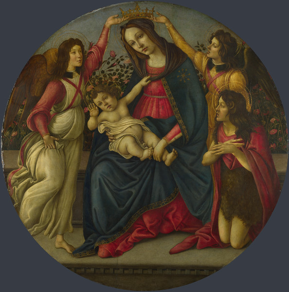 The Virgin and Child with Saint John and Two Angels