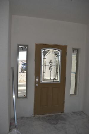 April 4 - Texture, paint, trim and doors