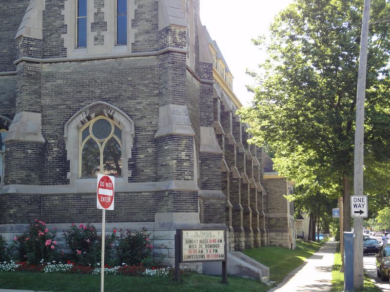 St. Patrick's Catholic Church.