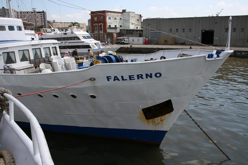 2009 - F/B FALERNO : winter laid up in Napoli.