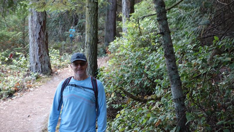 Me...hiking...