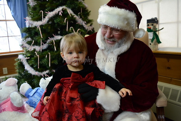 Santa photos St Francis Church Fair 2018
