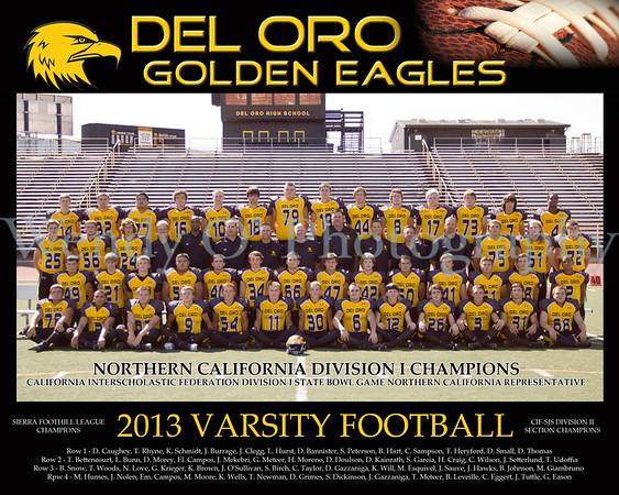 Official Varsity Team Photo 2013