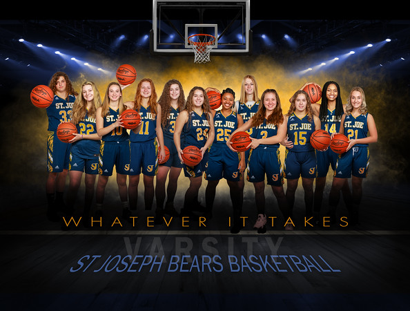 2021 Varsity Girls - Banners and Individuals