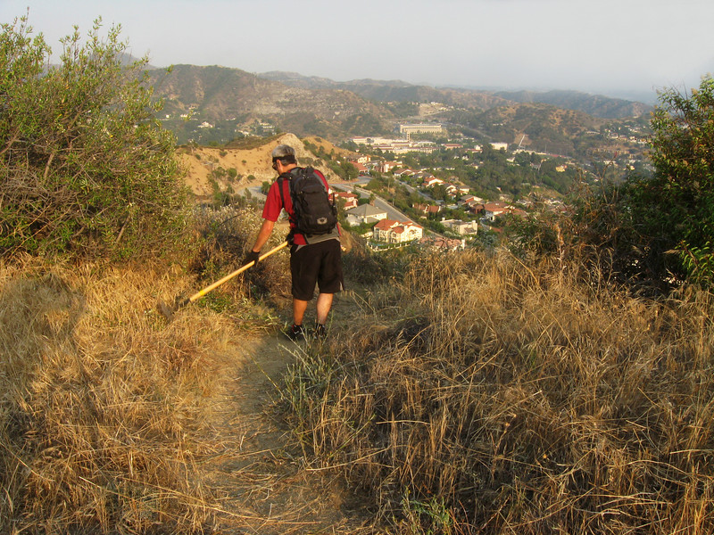 20080625012-Glendale Las Flores Trailwork.JPG