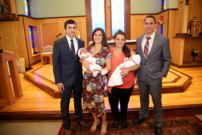 Rocco and Kolbe Christening