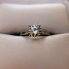 0.78ct Round Brilliant Diamond Bridal Set by Cartier 28