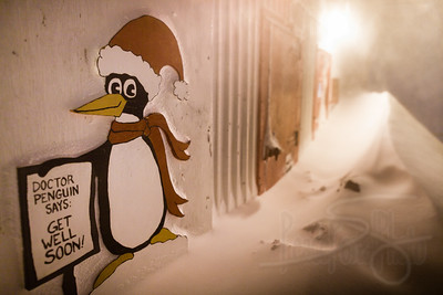 7.17.11. chilly willy being snowed in from a storm. McMurdo Station, Antarctica