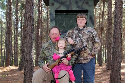 Lyla, Daddy & Channing