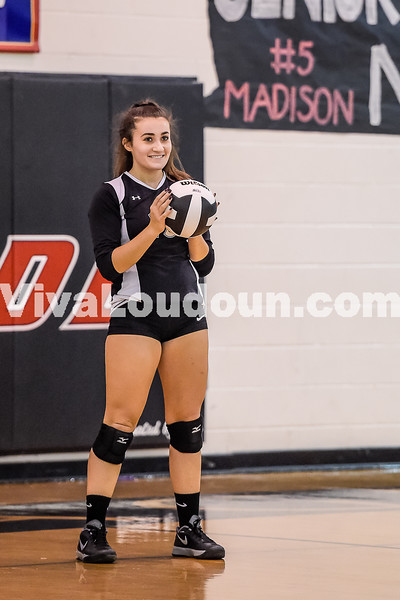 JV Volleyball:  Dominion vs Heritage 10.25.2016 (by Michael Hylton)