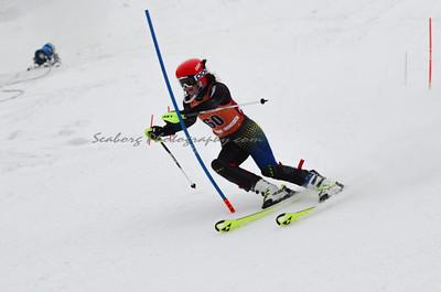Men and Women  Slalom First Run