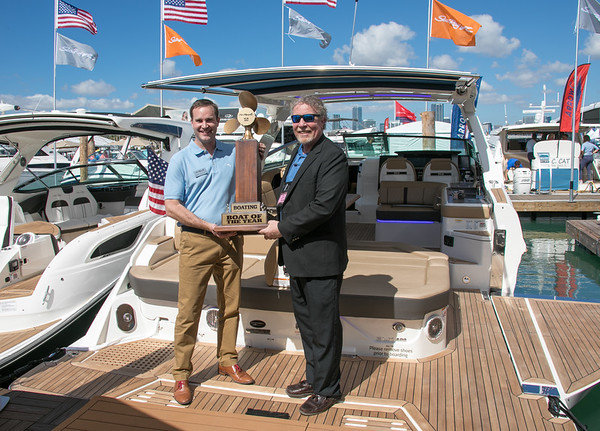 Miami Boat Show-Virginia Key