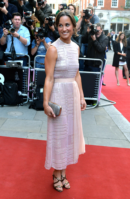. Pippa Middleton attends the GQ Men of the Year awards at The Royal Opera House on September 2, 2014 in London, England.  (Photo by Anthony Harvey/Getty Images)