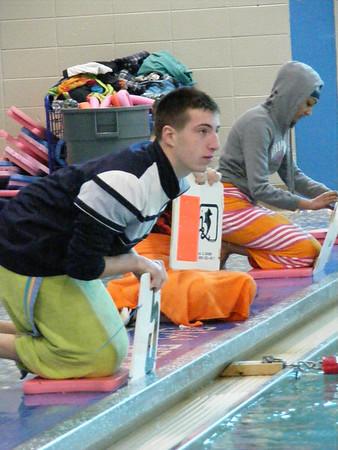 Swim Meet vs Stoughton 1-17