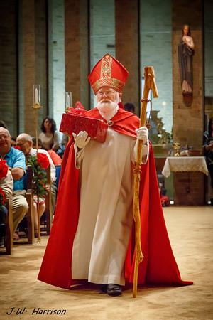 2016 - HFCC Family Christmas Mass - Children's 1st Christmas Reenactment