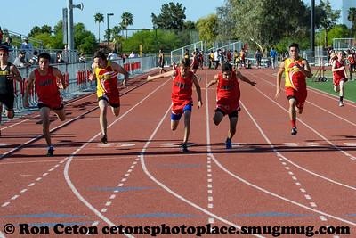 2017 Seton Catholic Duel 100m