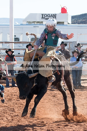 2018 Junior High Rodeo (Saturday) - Saddle Bronc